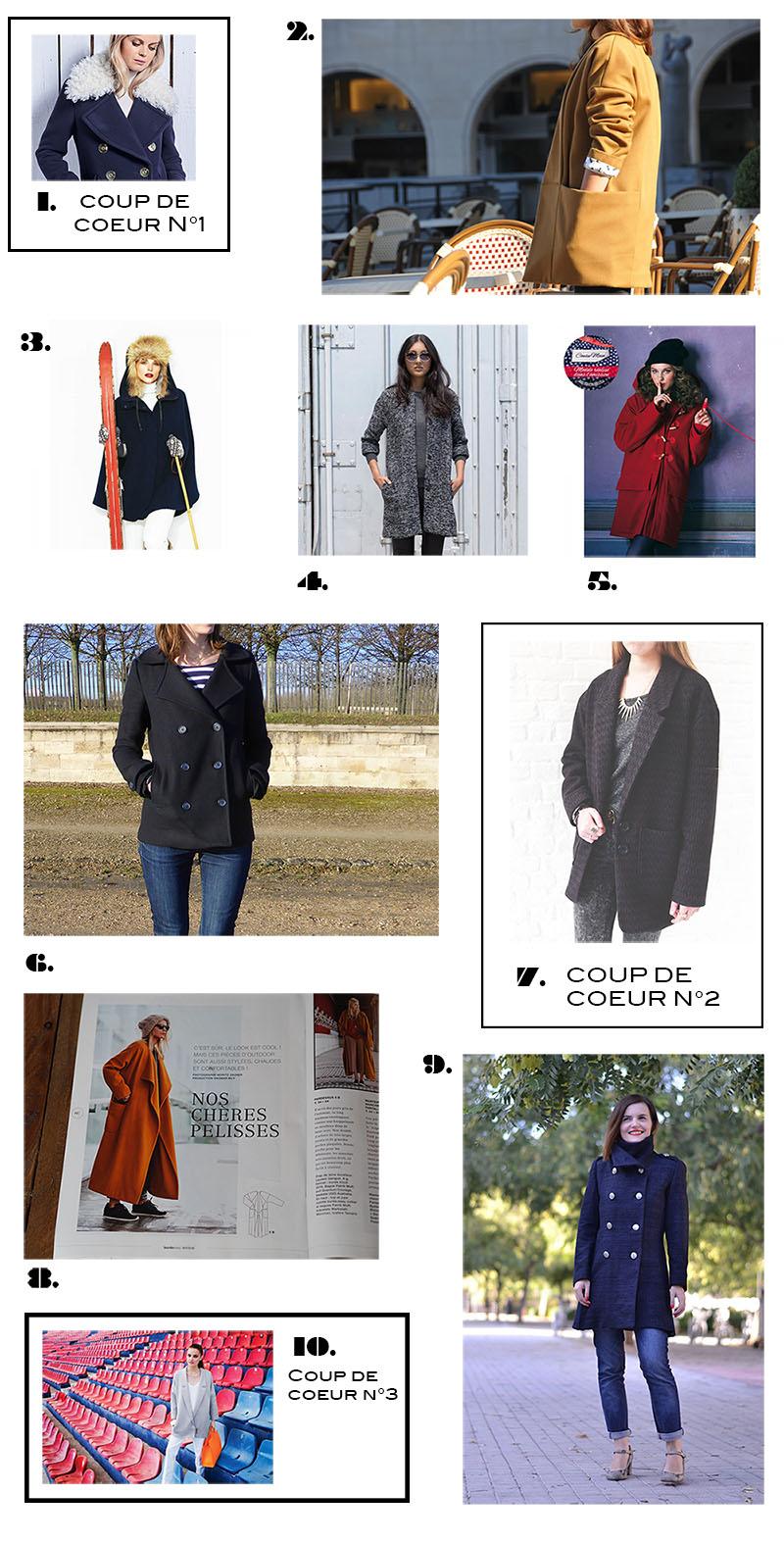 Tissu pour manteau chaud