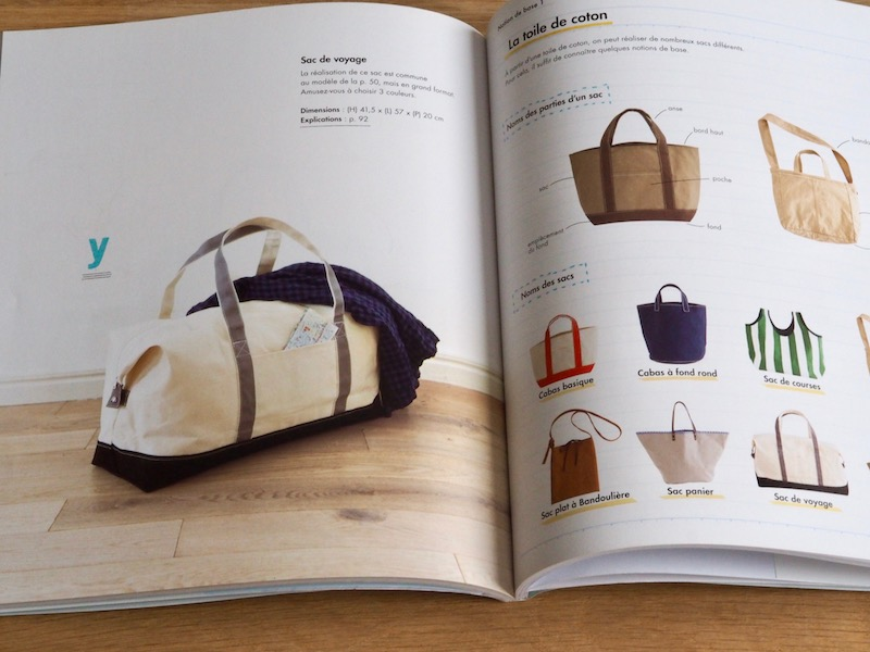 coudre un sac de voyage en toile de jute like a bobo. Black Bedroom Furniture Sets. Home Design Ideas