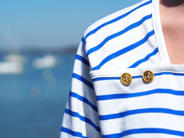 Coudre une marinière en jersey