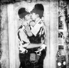 Kissing Coppers In Brighton