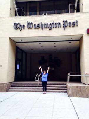 Visiting the Washington Post offices    Washington, D.C.    October 2014
