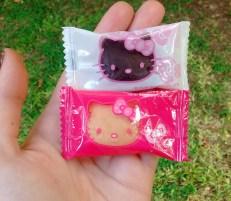 compras barrio chino chocolate kitty