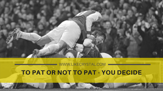 To Pat Or Not To Pat – You Decide