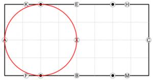 20 metre circle