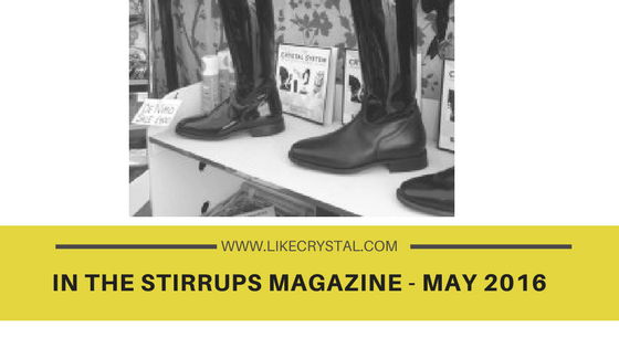 In the Stirrups Magazine – May 2016