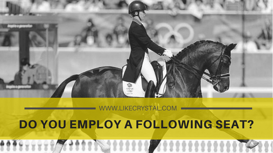 Q3: Do You Employ A Following Seat?