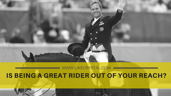 Guest Post: Is being a great rider out of your reach?