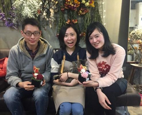 乾燥花課程教學,台北乾燥花2018