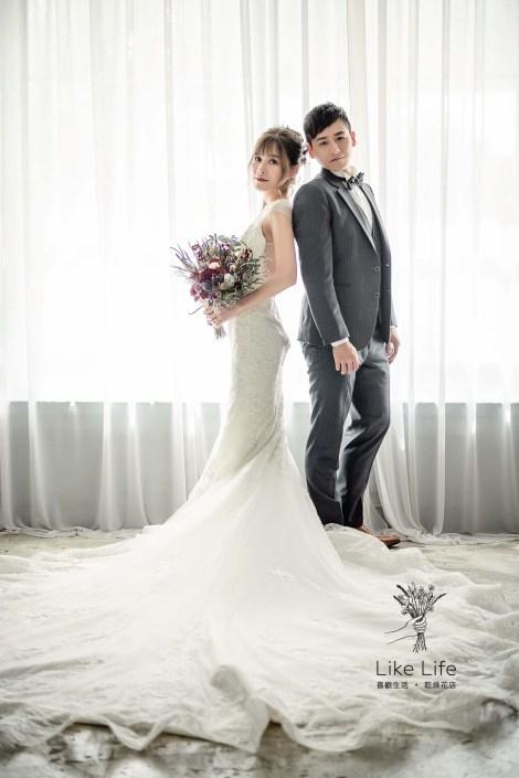 新娘捧花推薦台北喜歡生活乾燥花店,乾燥花捧花推薦