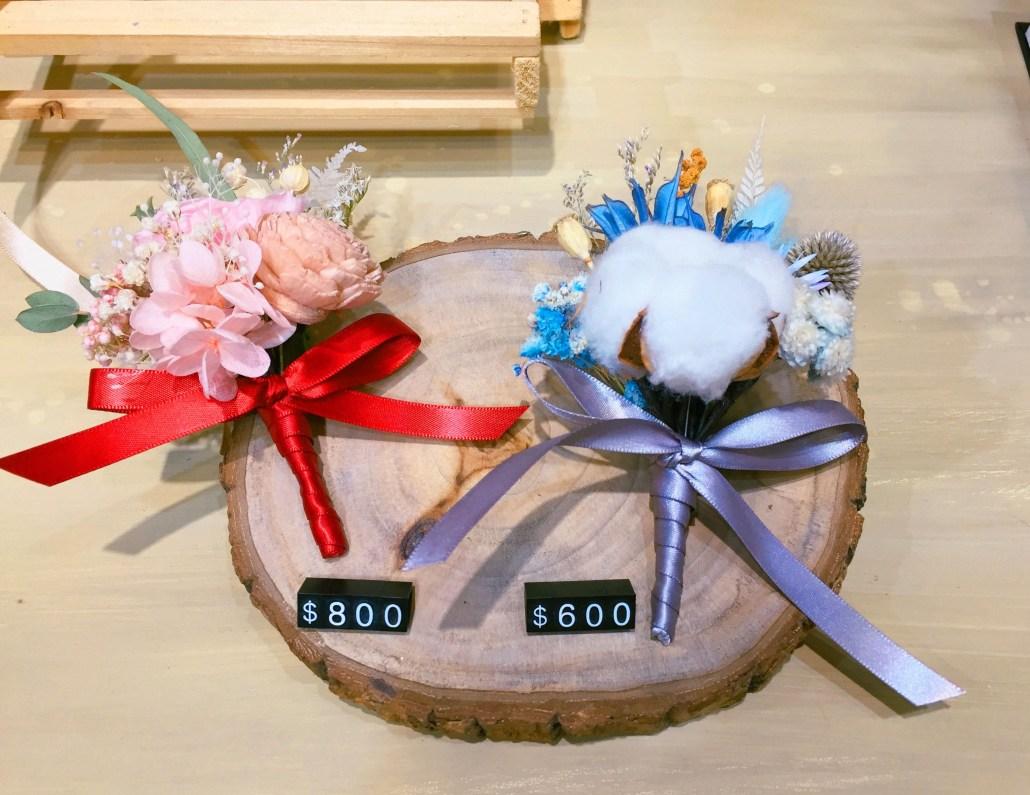 乾燥花胸花,喜歡生活乾燥花店,台北乾燥花胸花