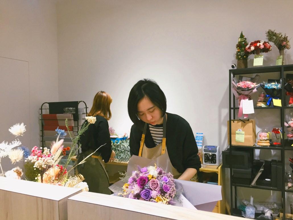 永生花束包裝,喜歡生活乾燥花店,永生花推薦