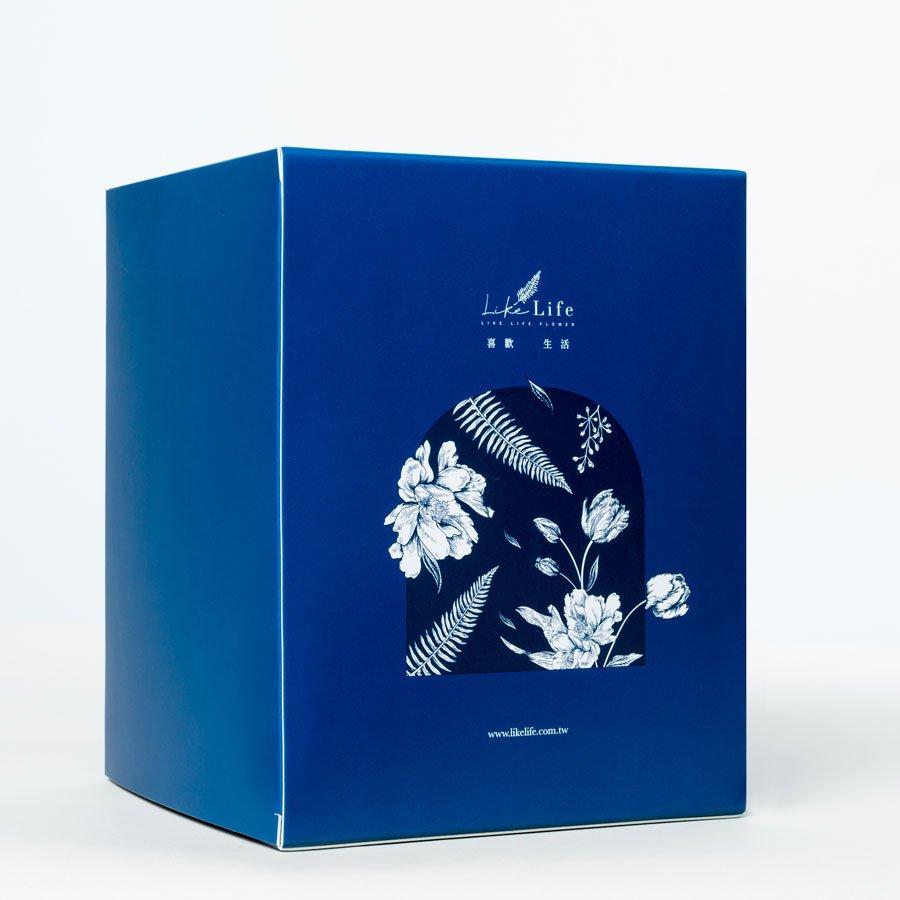 永生花禮盒包裝2,永生玫瑰花禮盒