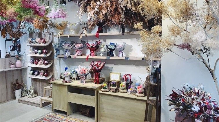 台北高級質感花店推薦-喜歡生活乾燥花店