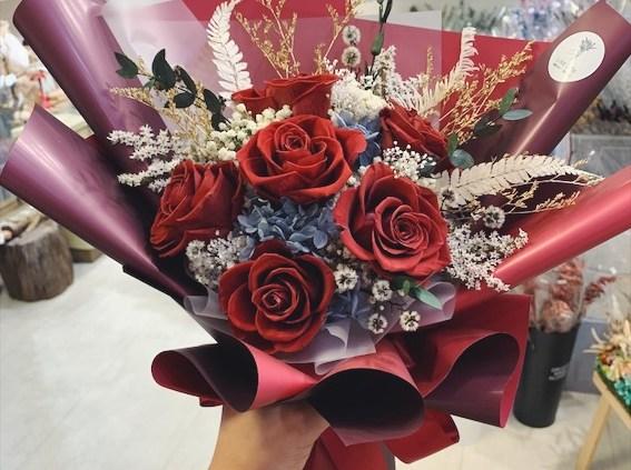 母親節乾燥花束,母親節永生花束推薦台北