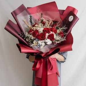 永生花束推薦,台北永生玫瑰花束