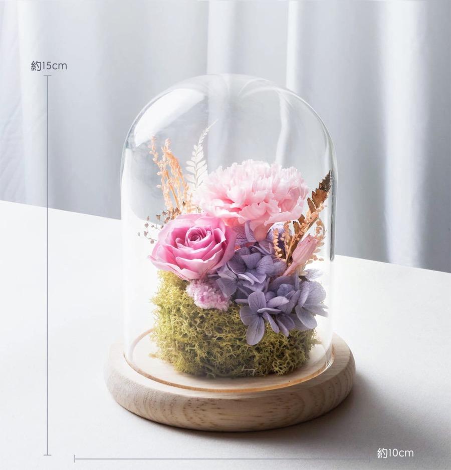母親節粉色永生花康乃馨公分-台北喜歡生活乾燥花店