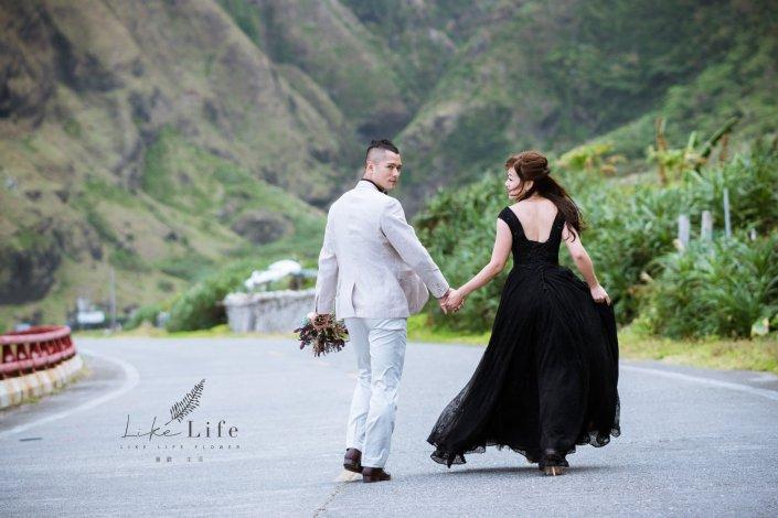 求婚花束推薦台北,求婚花束夫妻合照,求婚成功