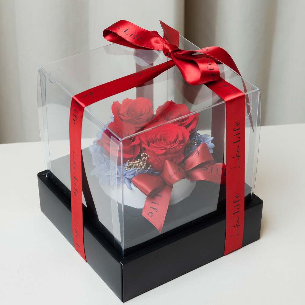 永生玫瑰花包裝盒子,永生玫瑰花禮盒