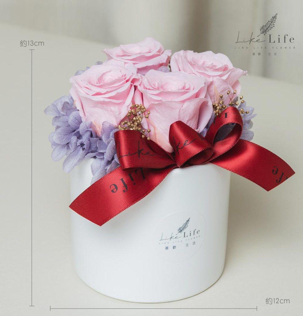 情人節康乃馨花束粉色永生玫瑰花盆栽公分,情人節花束台北