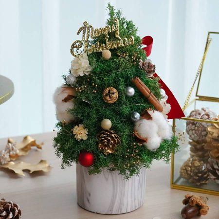 聖誕樹封面4,喜歡生活乾燥花店