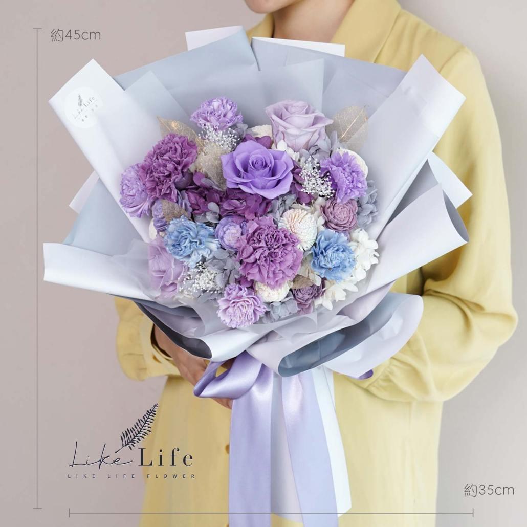 母親節康乃馨花束,紫色康乃馨花束,紫色康乃馨花束
