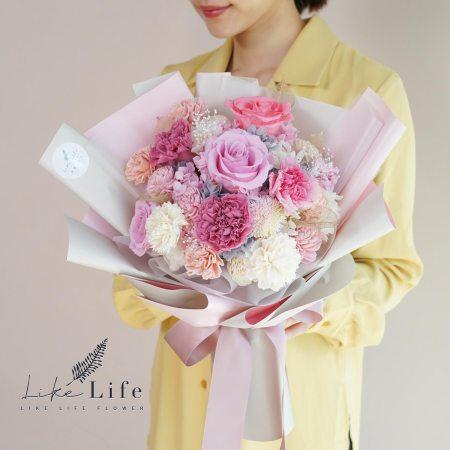 母親節康乃馨花束粉色康乃馨花束