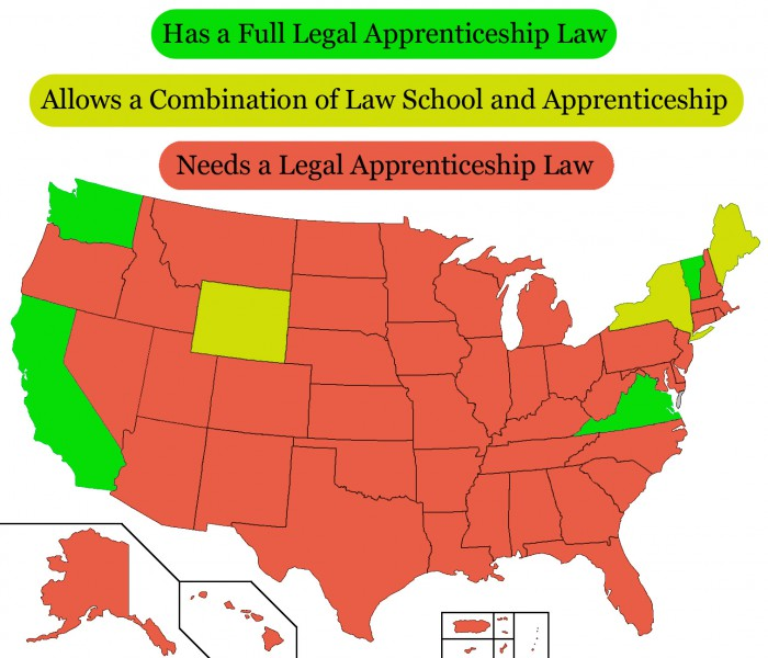 US Apprenticeship Map