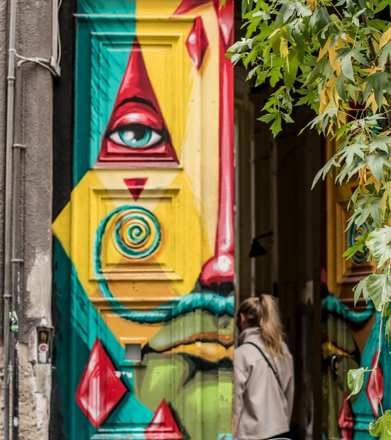 Hidden Budapest Street Art – District VII