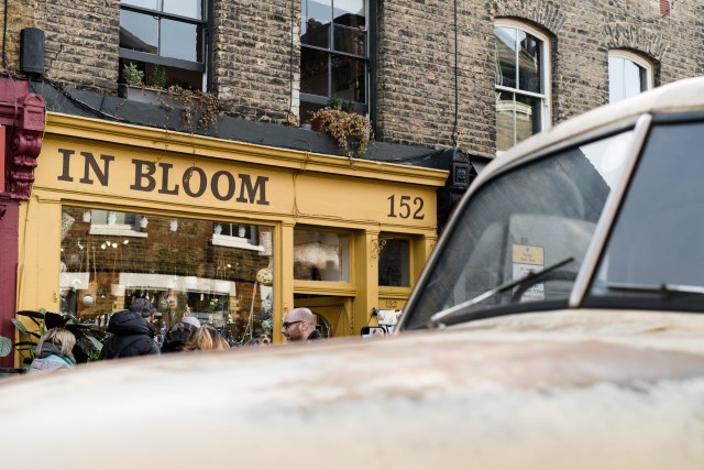 in bloom yellow shop columbia road