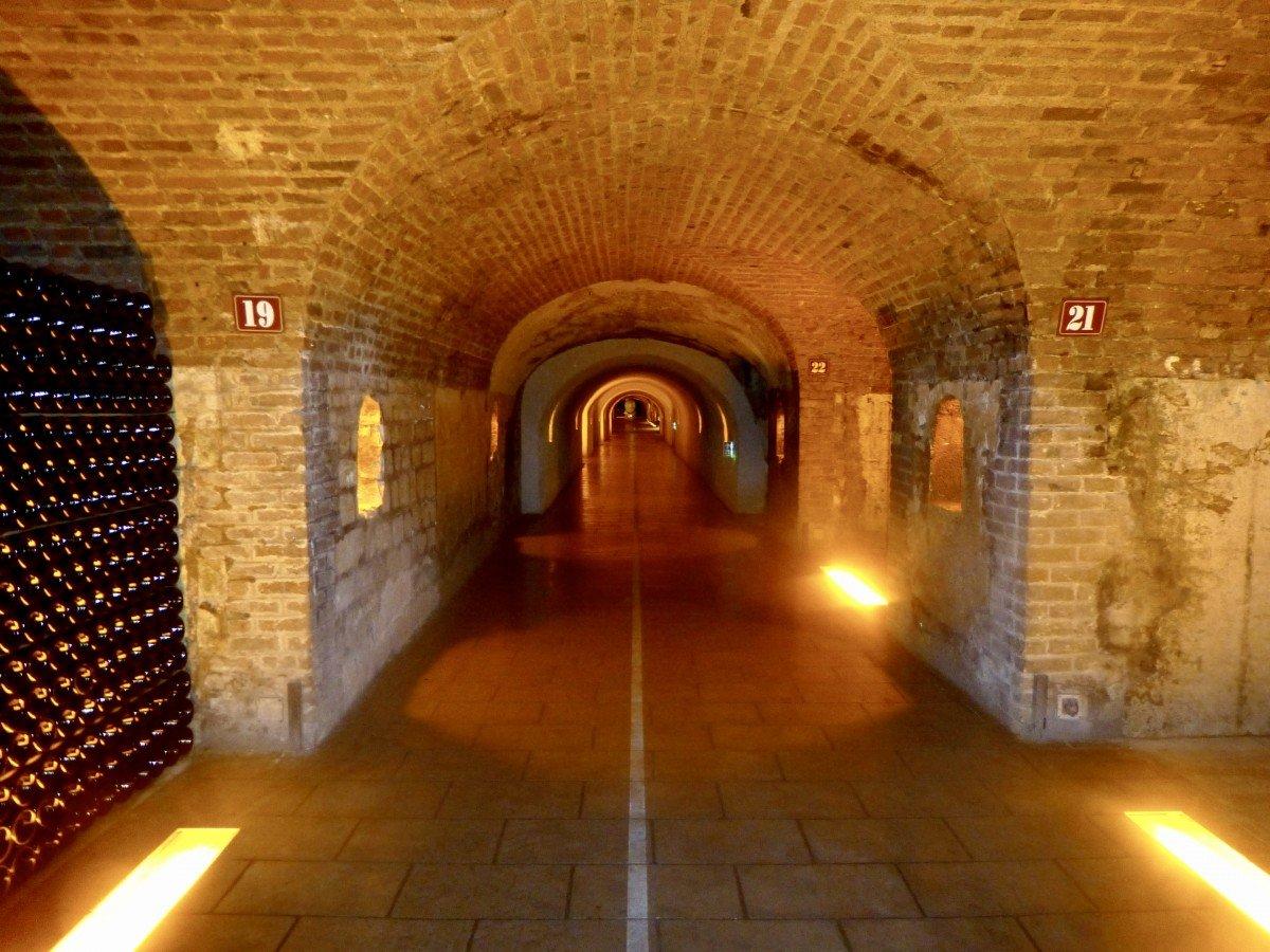 Moët & Chandon cellars