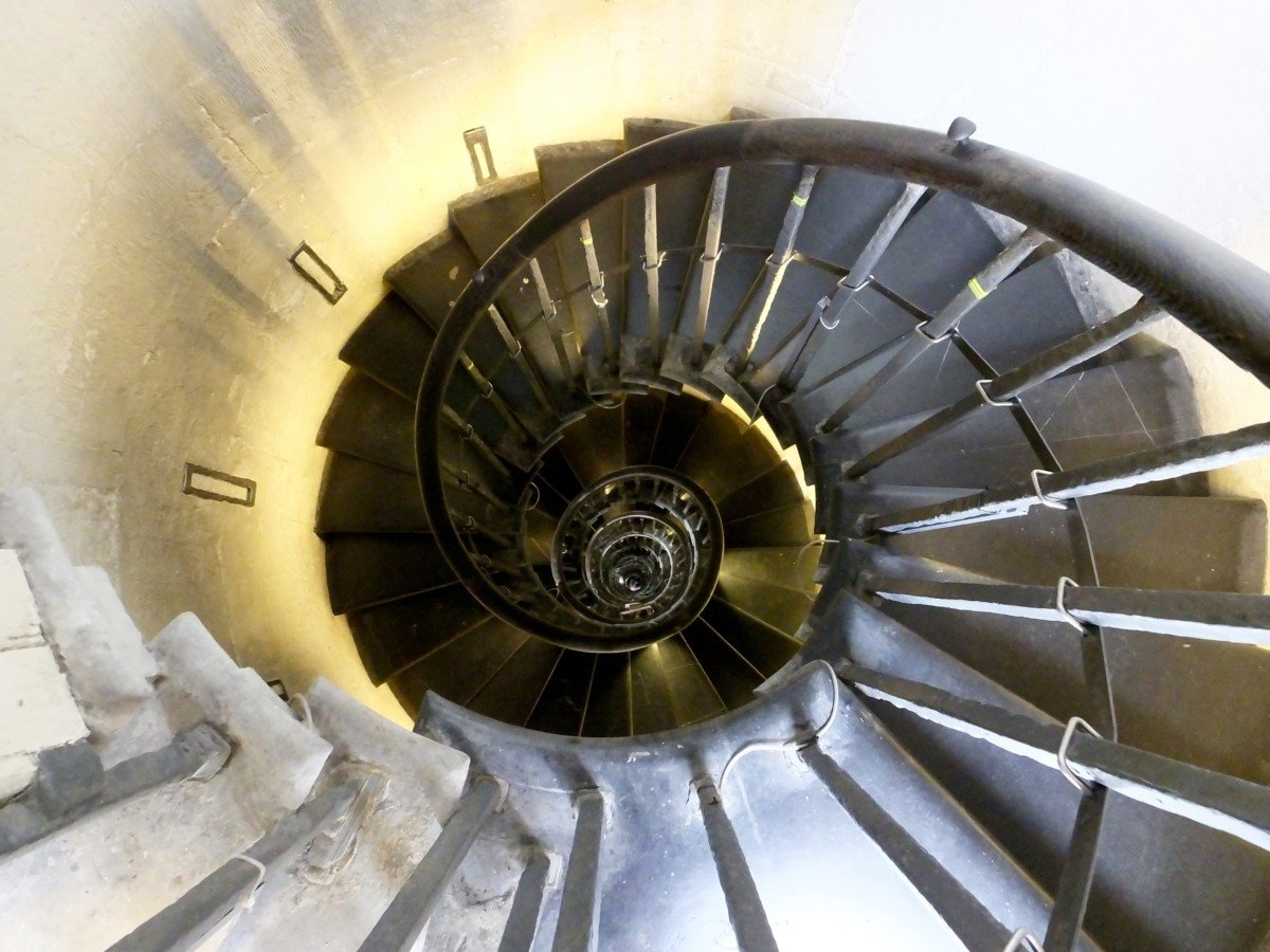 spiral stairs the monument london