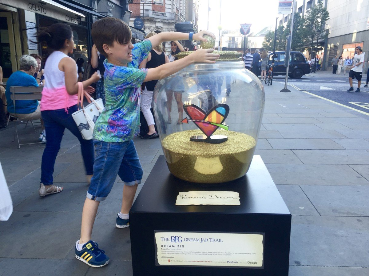 charlie and the chocolate factory big dream jar