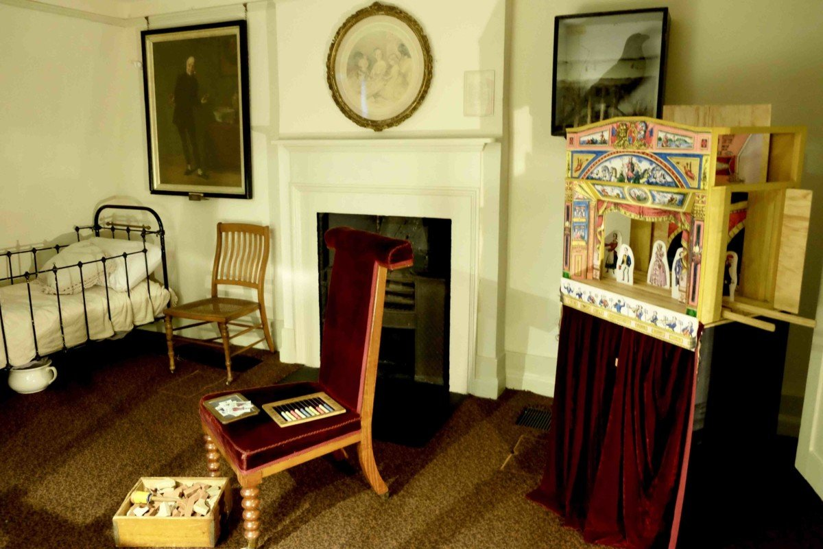 The Charles Dickens Museum London. nursery