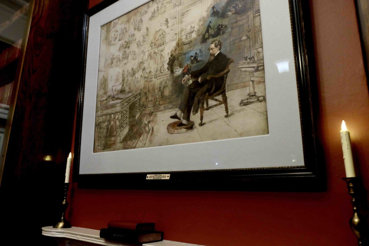 The Charles Dickens Museum London. 48 Doughty street dickens dream