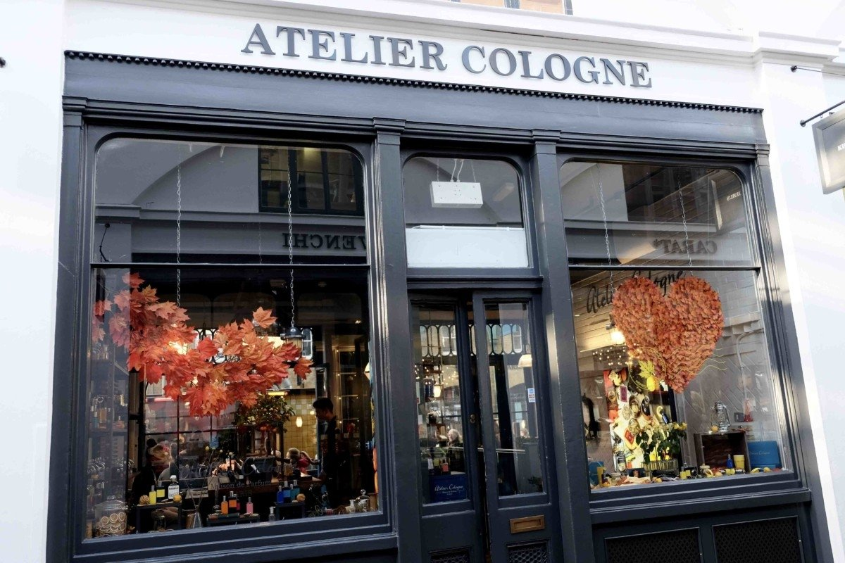 Atelier cologne store  Covent Garden is the Heart of Beauty Shops in London ?