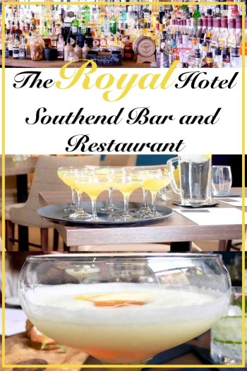 The Royal Hotel Southend Bar and restaurant pin