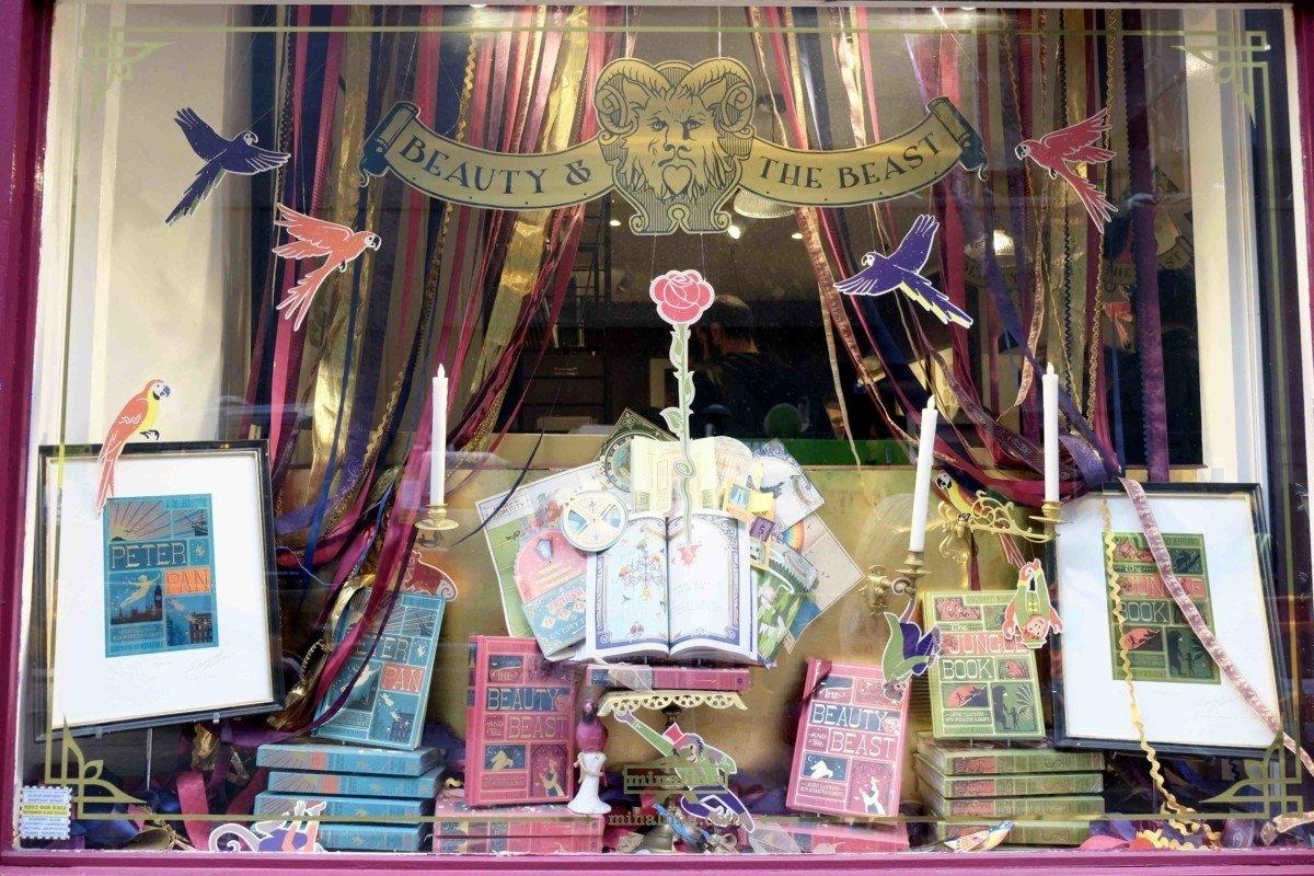 Mina Lima Secret Harry Potter stop in London shop front