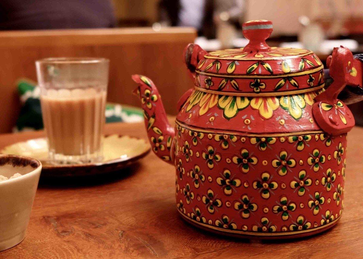 Alternative Traders High Tea in London at Cinnamon Bazaar