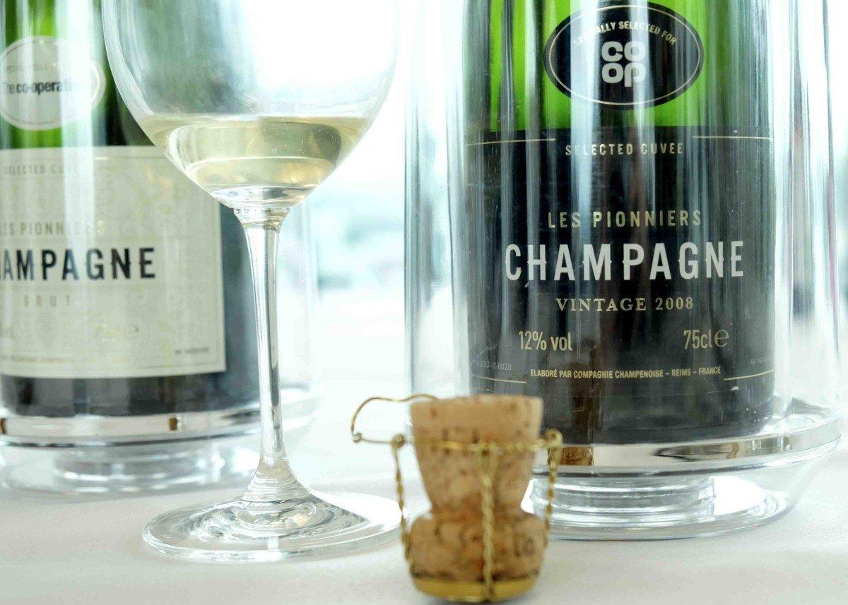 Co-op Spring Summer wine tasting.