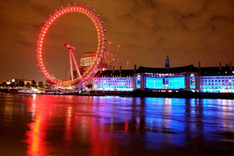 My Sunday Photo London Eye at Night