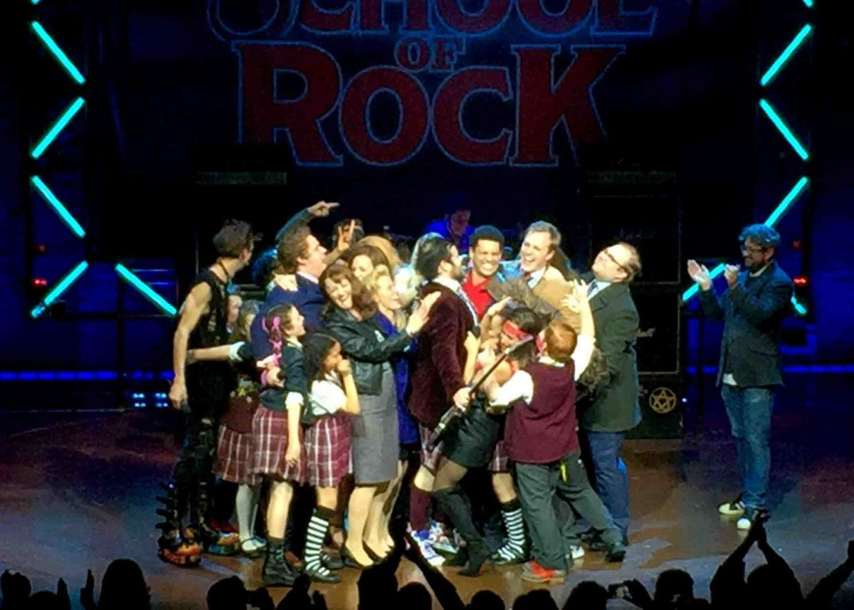 School of rock said goodbye to David Finn