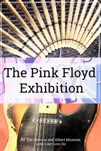 The Pink Floyd Exhibition at the Victoria and Albert Museum