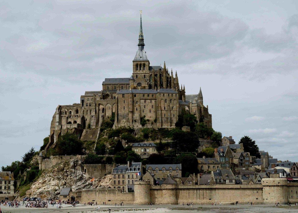 View of Le Mont Saint Michel