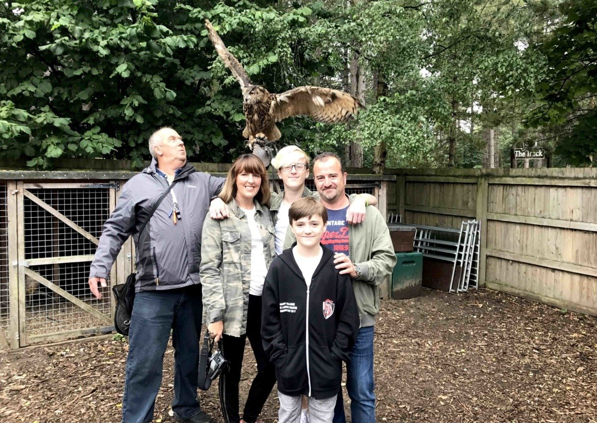 Centreparcs For Teenagers Falconry experience