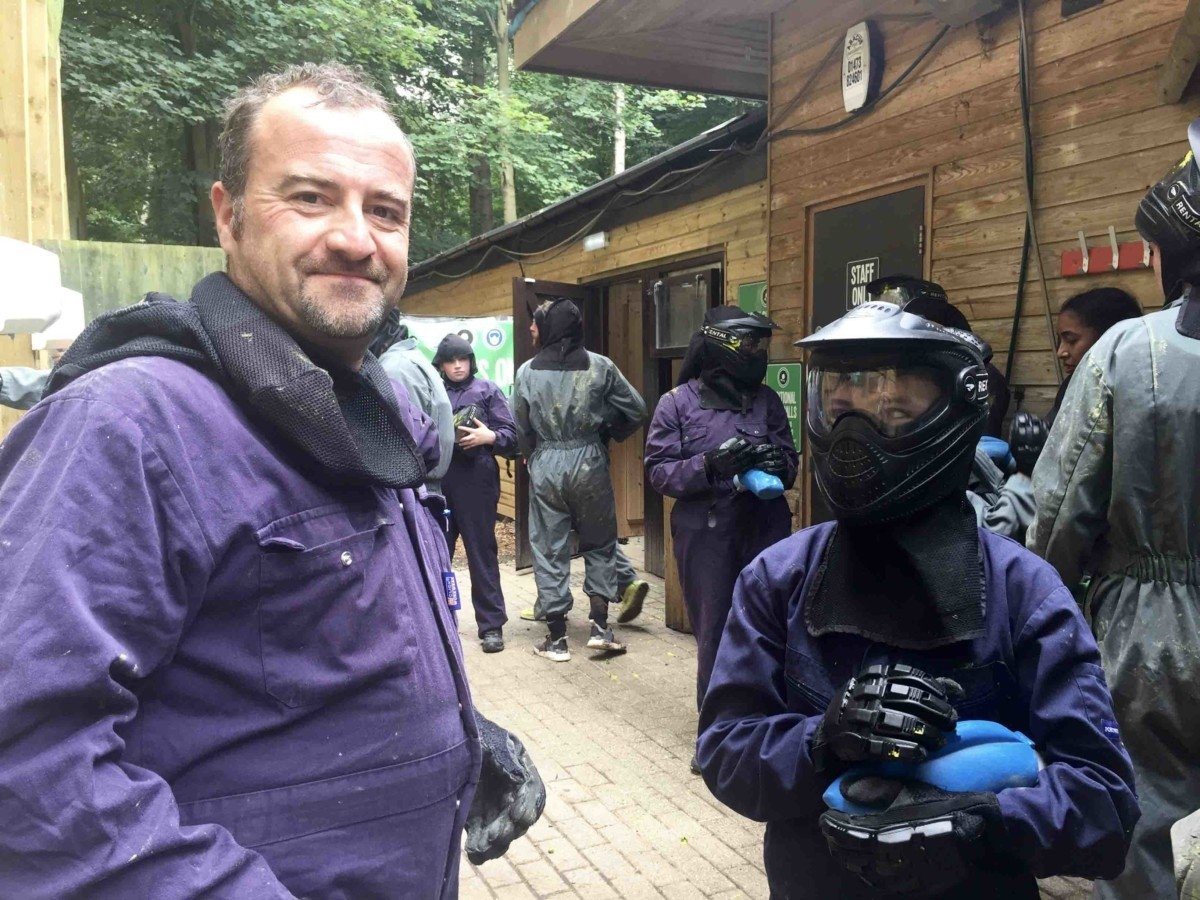 Centreparcs For Teenagers paintball