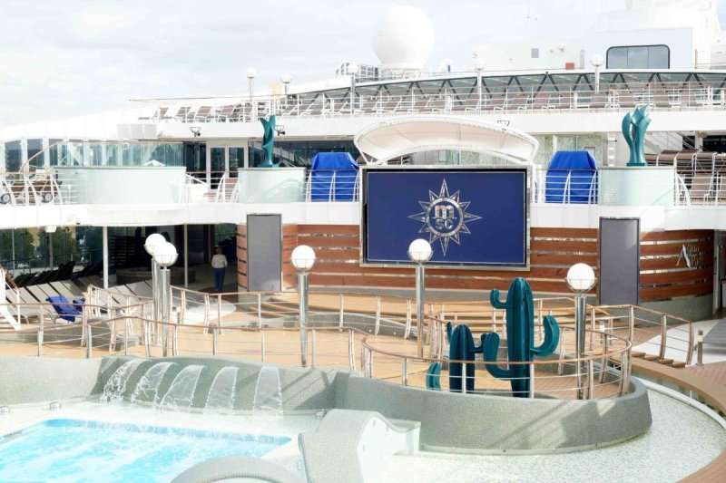 Take a cruise on the MSC Preziosa in summer with the kids