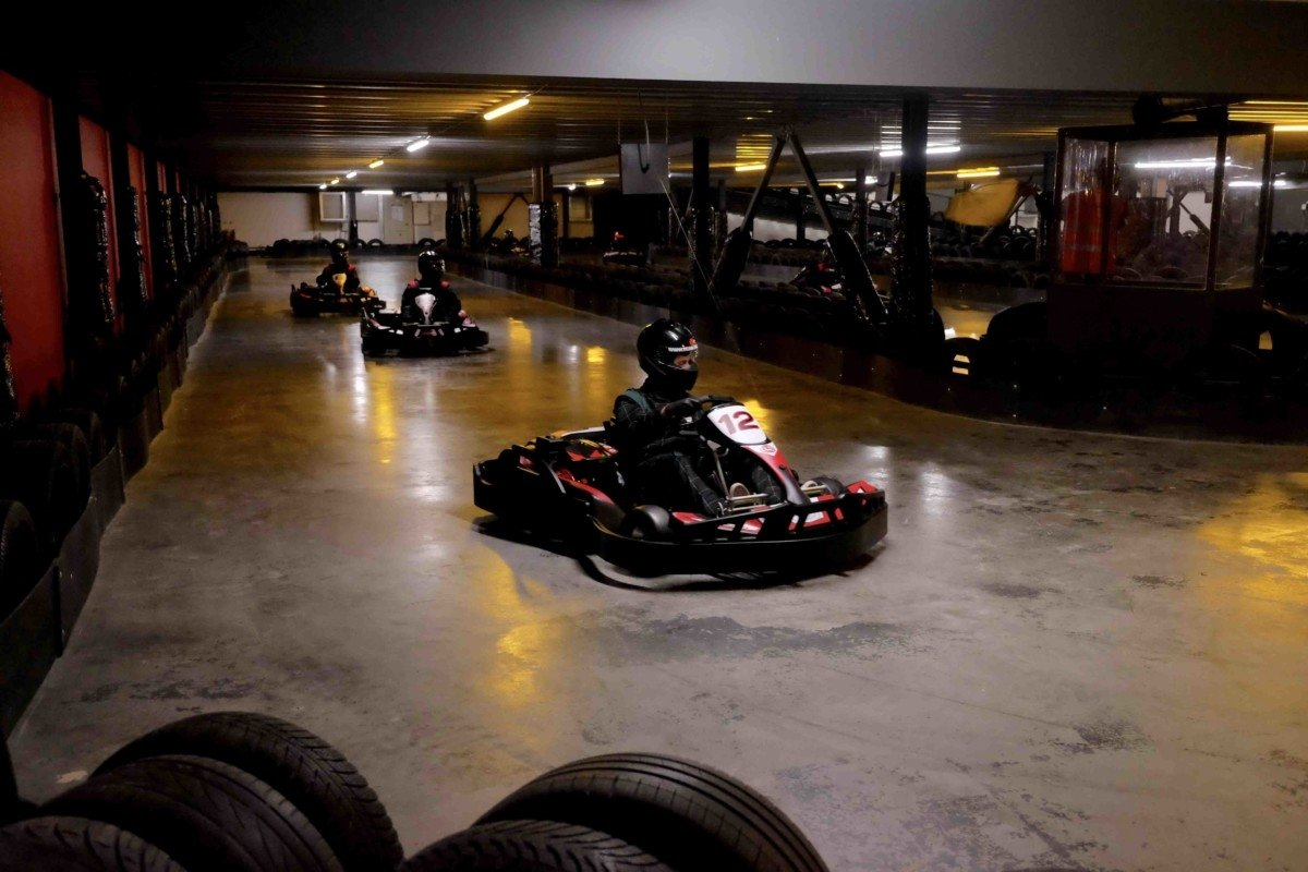 Teamsport Karting in Basildon underground karting