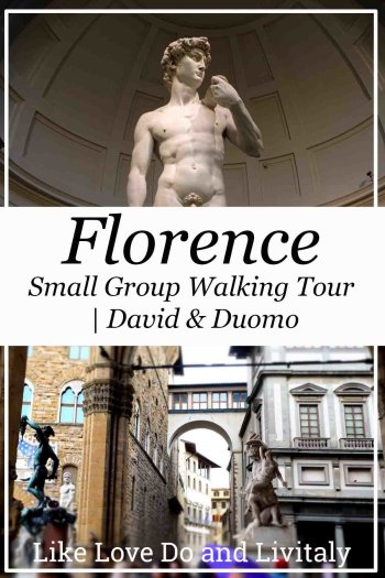 David and Duomo walking tour with Livitaly A day in Florence