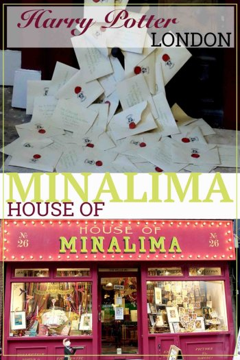 The house of Mina Lima Harry Potter and Fantastical Beasts stop in London