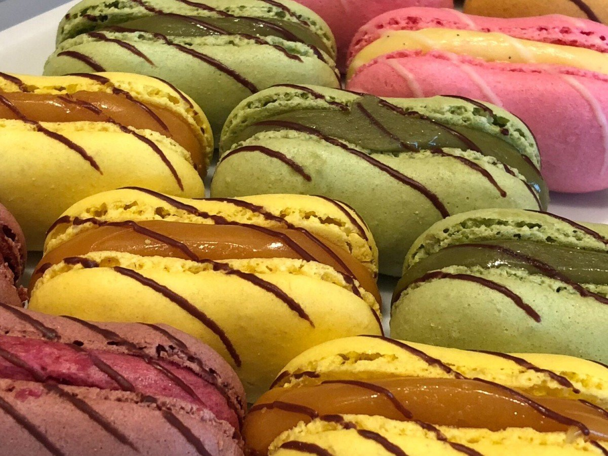 Macaroons onboard Symphony of the Seas